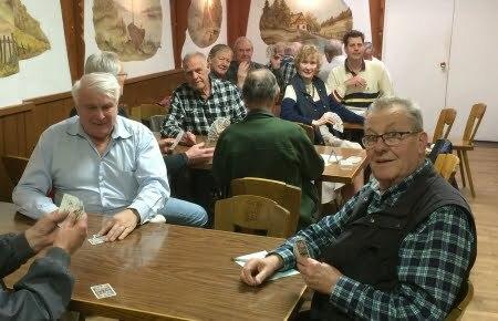 Vancouver Alpen Club · Subgropus · Card Games · Rummy · Skat