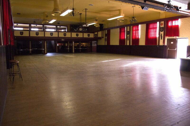 Vancouver Alpen Club · Event Location · Function Room · Ballroom · Ideal For Big Events, Dances, Weddings · Hall