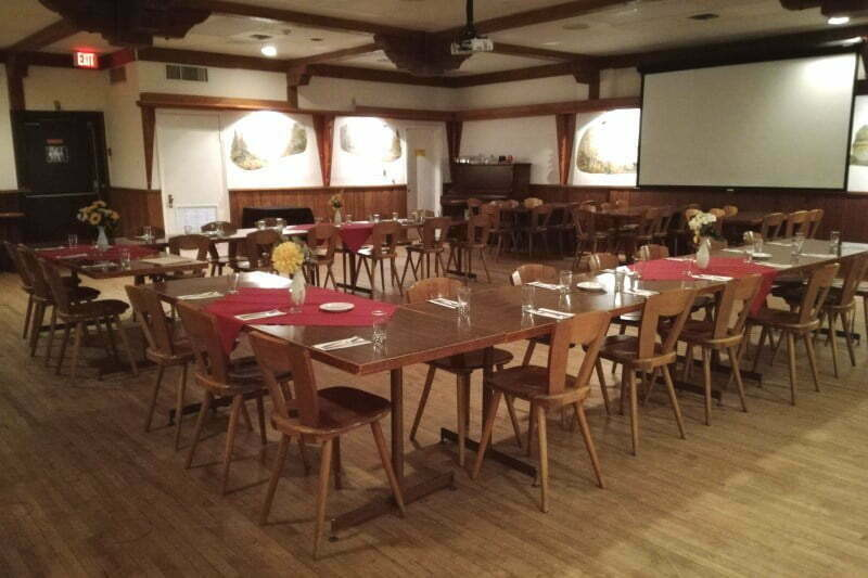 Vancouver Alpen Club · Event Location · Function Room · Jagerstube · ideal for small to middle sized events · room setup