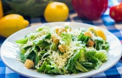 Vancouver Alpen Club, Food, Ceasar Salad