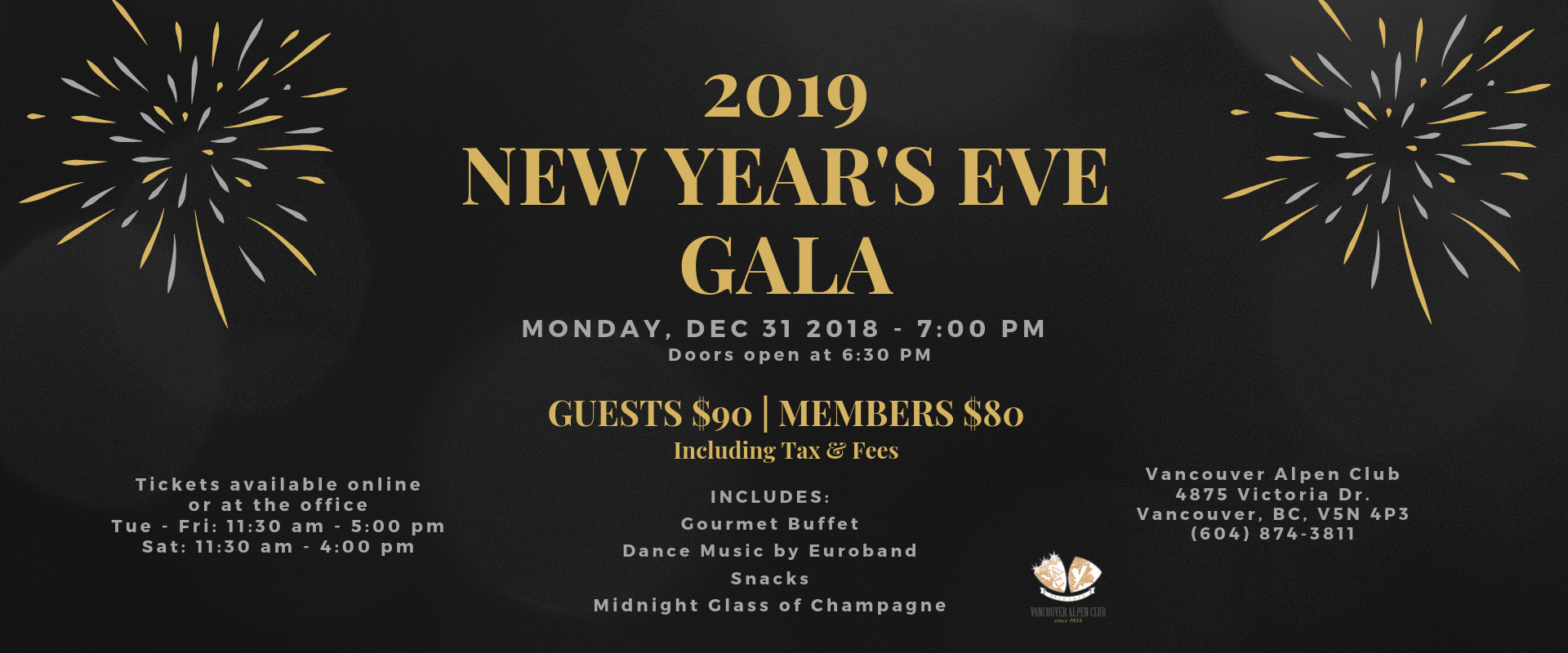 2019 New Year's Eve Gala