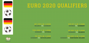 Euro 2020 Qualifiers Germany vs. Northern Ireland @ Vancouver Alpen Club