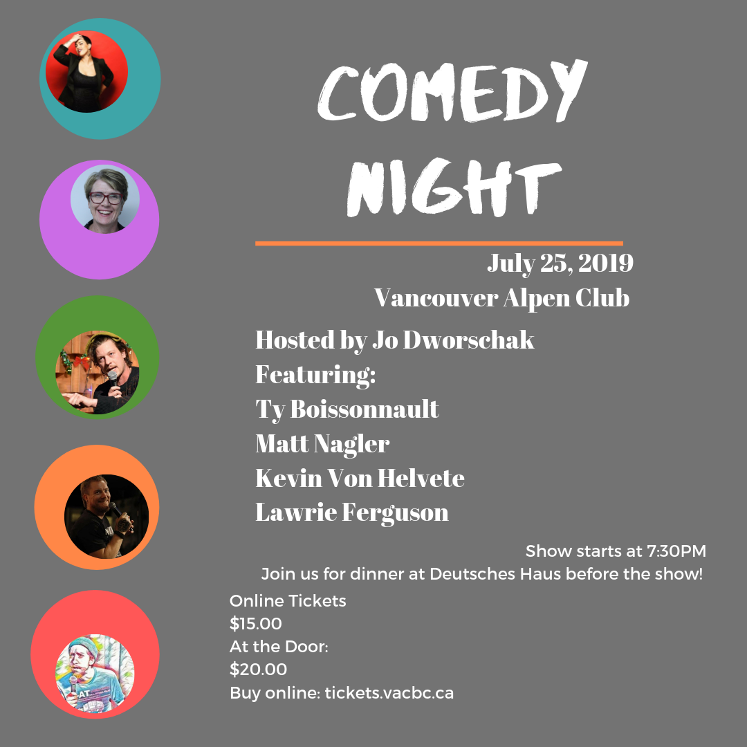 July Comedy Night Ticket