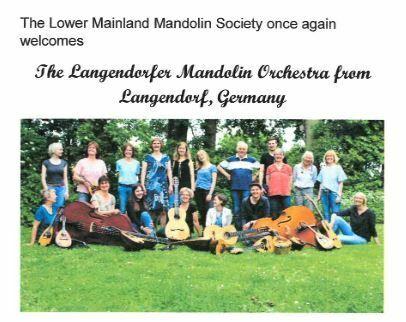 Landendorfer Mandolin Orchestra Concert