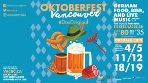 Oktoberfest #DasOriginal 2019 @ Vancouver Alpen Club
