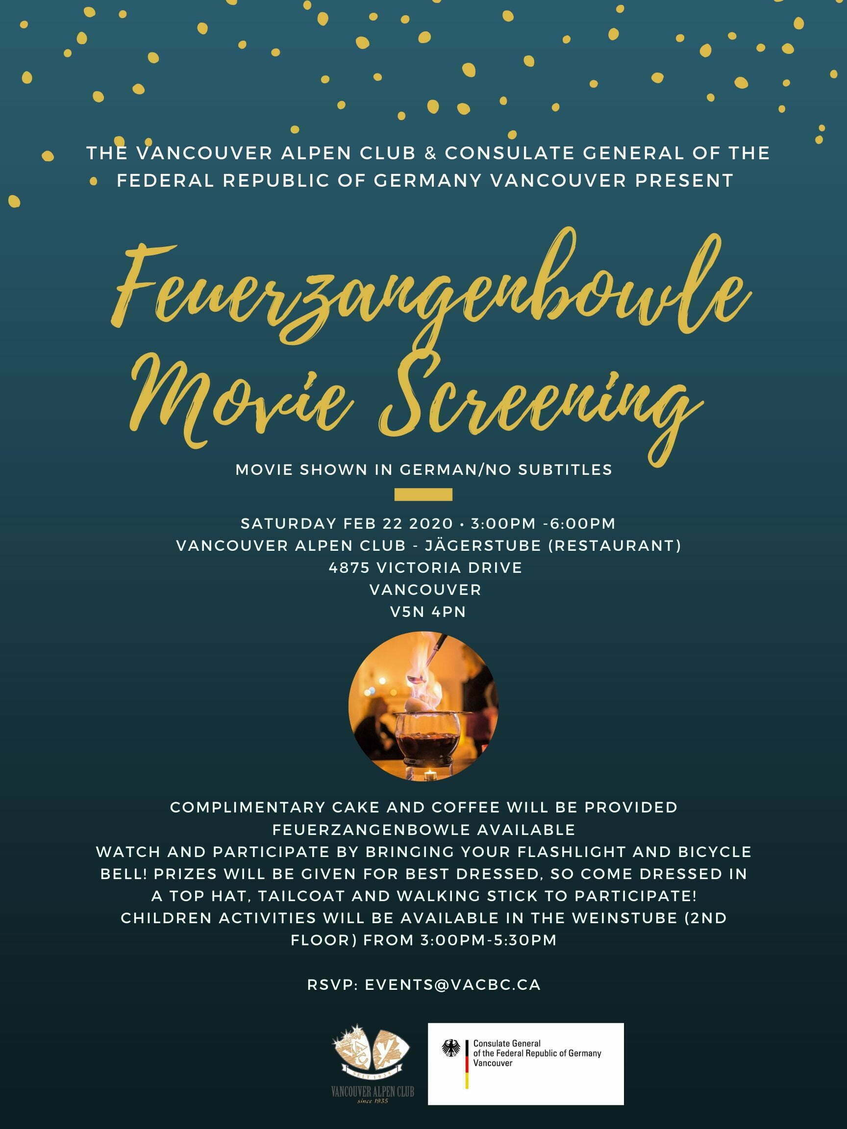 Feurzangenbowle Movie Screening